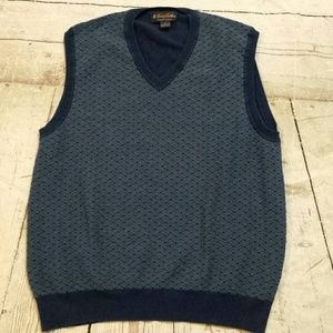 Brooks Brothers Supima Cotton sz L Sweater Vest